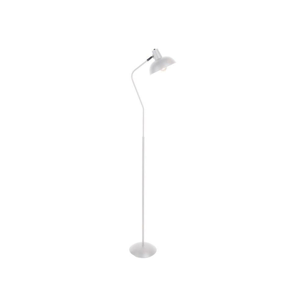 Bílá stojací lampa Leitmotiv Hood