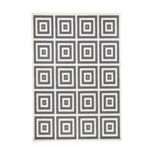Šedobílý koberec Hanse HomeMono, 200x290cm