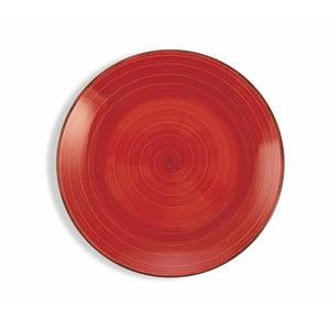 Sada 6 vínově červených talířů Villa d´Este Baita, ø 19 cm