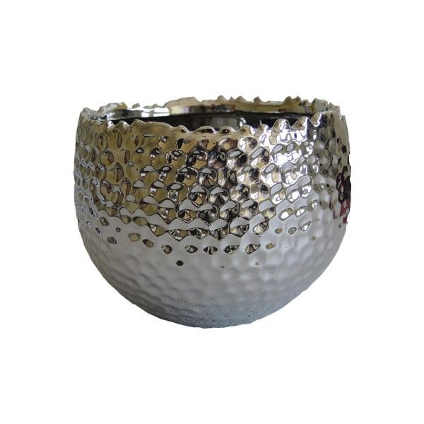 Stříbrný květináč Pure