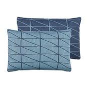 Oboustranný polštář s náplní Gate Blue, 40x60 cm z kavárny U Kubistů