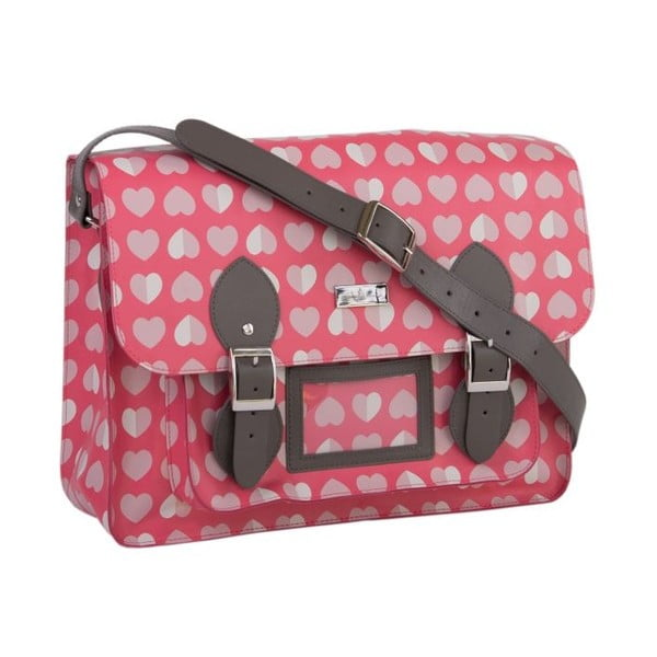 Torba Beau&Elliot Pink Satchel