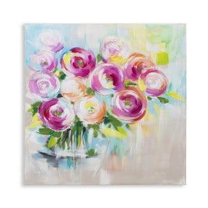 Ručně malovaný obraz Mauro Ferretti Plant, 80x80cm