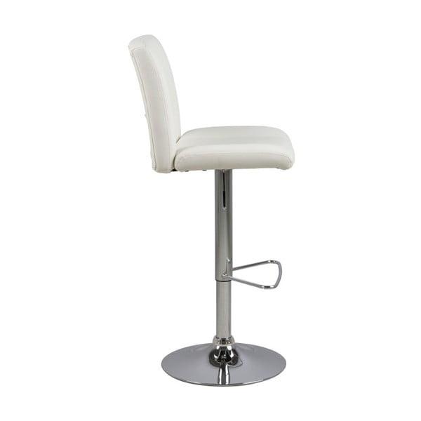 Sada 2 bílých barových židlí Actona Wilma Barstool
