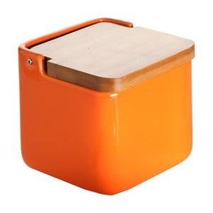 Oranžová dóza na sůl Versa Orange Basic Salt Box