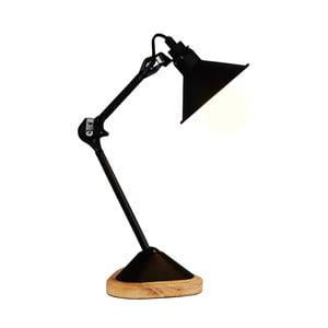 Černá stolní lampa Basilico