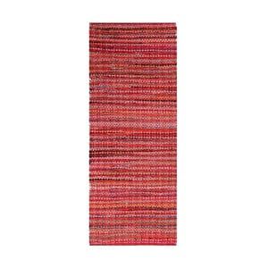 Ručně tkaný bavlněný koberec Webtappeti Ava,50x80cm