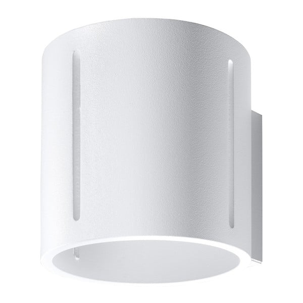 Bílé nástěnné svítidlo Nice Lamps Vulco
