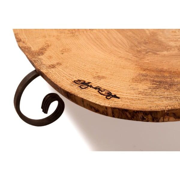 Dřevěný podnos Slice Vintage