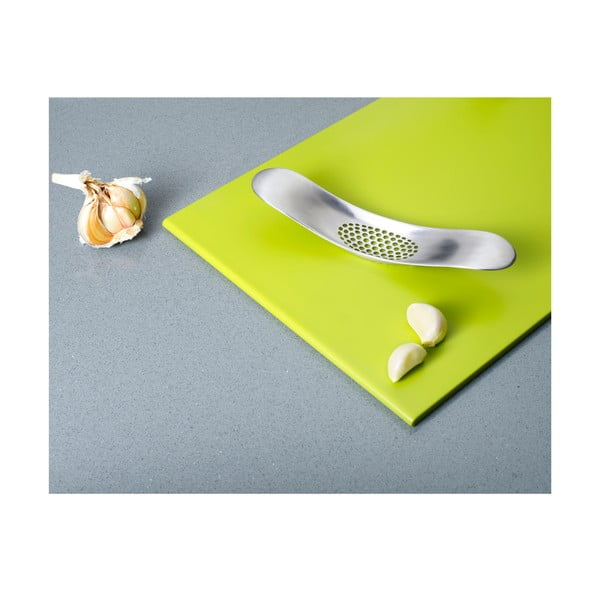 Kolébkové mačkadlo na česnek Garlic Crusher, zinek