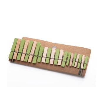 Set 21 de cârlige din bambus Bambum Chacha