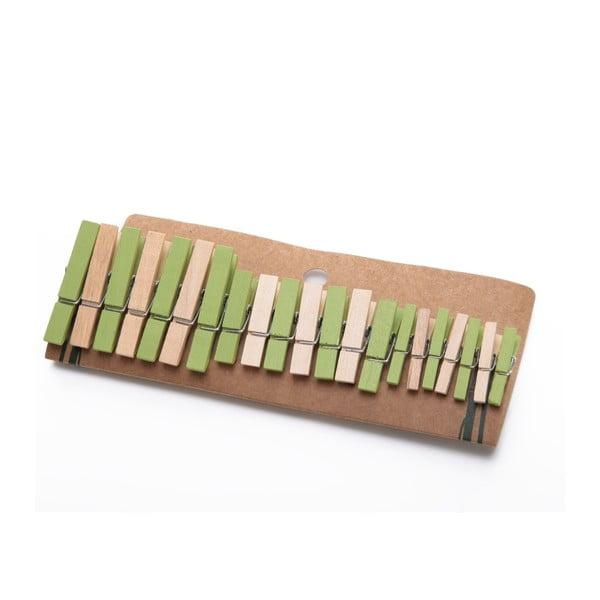 Sada 21 bambusových štipcov Bambum Chacha