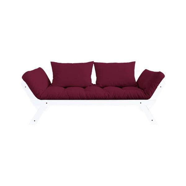 Canapea extensibilă Karup Design Bebop White/Bordeaux