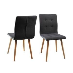 Jídelní židle Frida, tmavě šedá