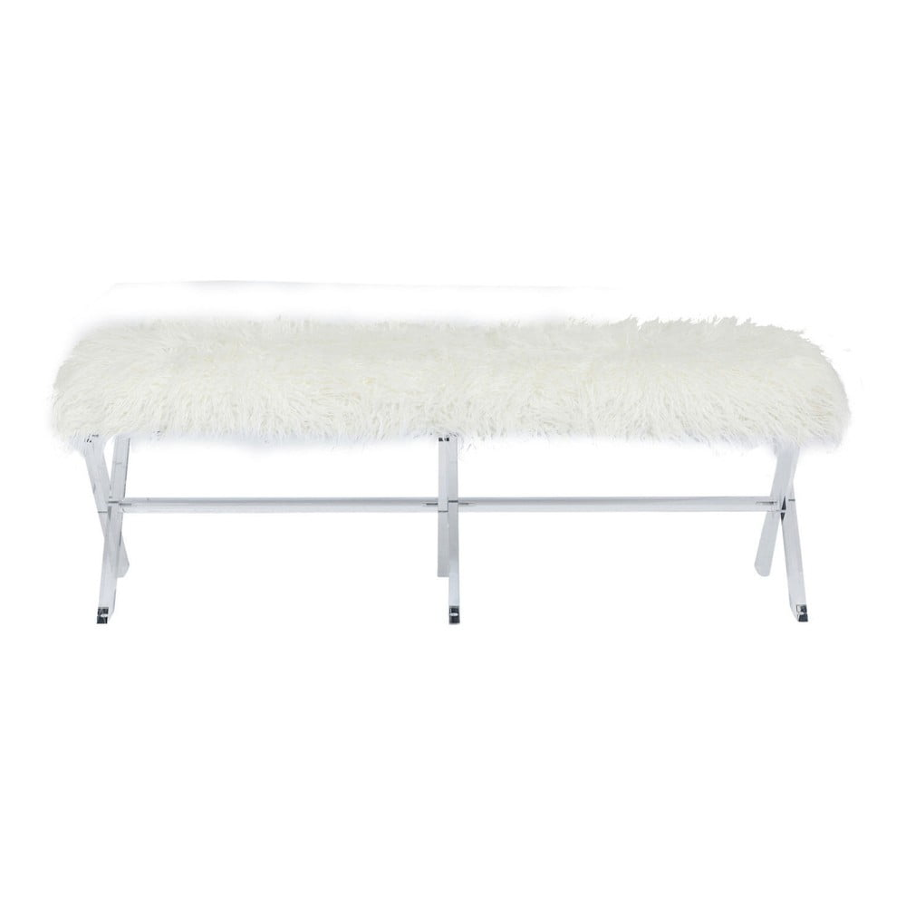 Bílá lavice Kare Design Visible