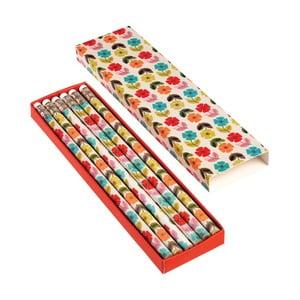 Set 6 creioane Rex London Poppy