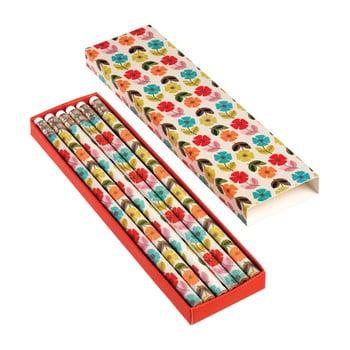 Set 6 creioane Rex London Poppy imagine