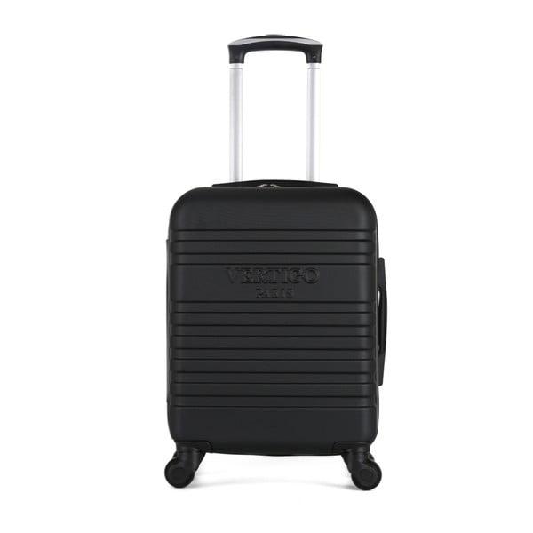 Černý cestovní kufr na kolečkách VERTIGO Valises Cabine Cadenas Muela