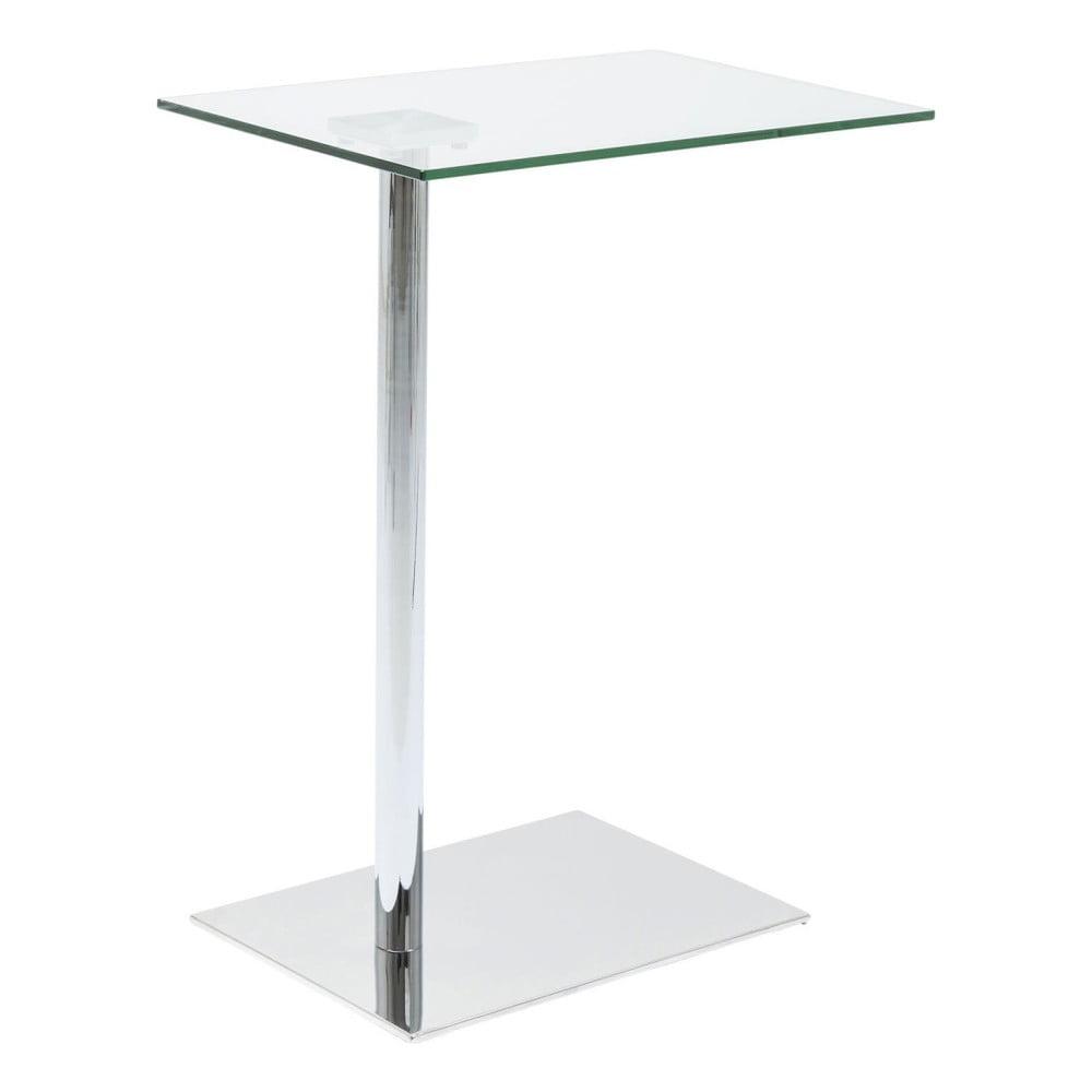 Odkládací stolek v dekoru chromu Kare Design West Coast