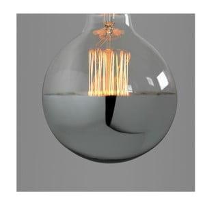 Žárovka Small Globe Silver Edison E27