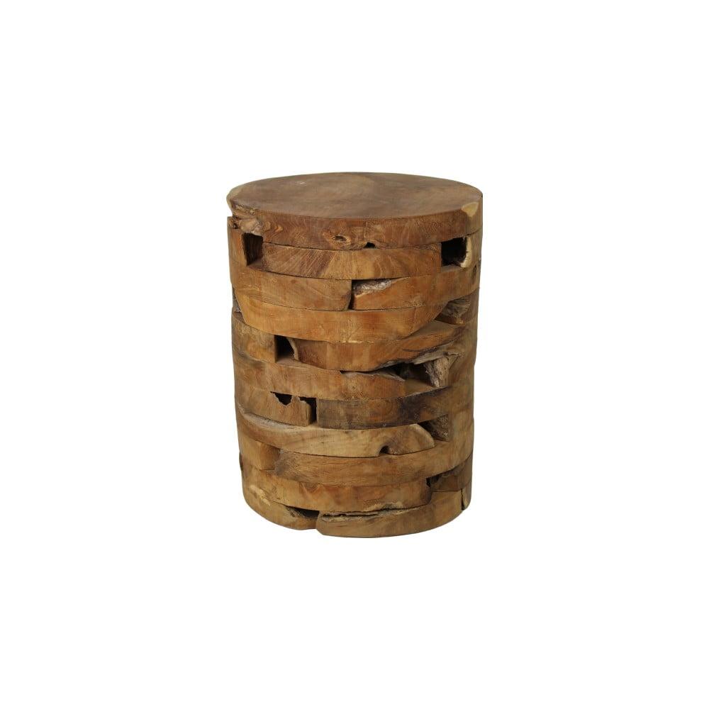 Stolička z teakového dřeva HSM Collection Bata