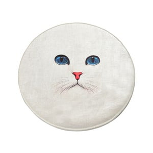 Koupelnová předložka Homefesto Blue Eyes, ⌀ 100 cm