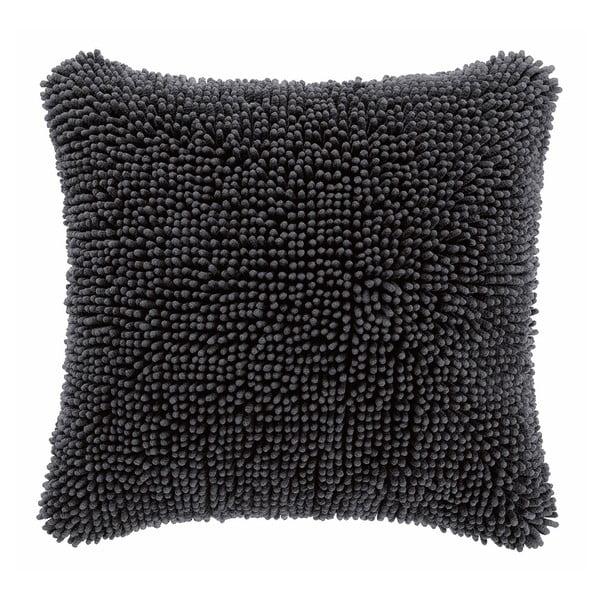 Shaggy sötétszürke párnahuzat, 45 x 45 cm - Tiseco Home Studio