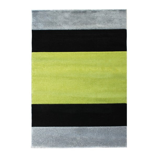 Covor Tomasucci Strip, 140 x 190 cm, gri verde