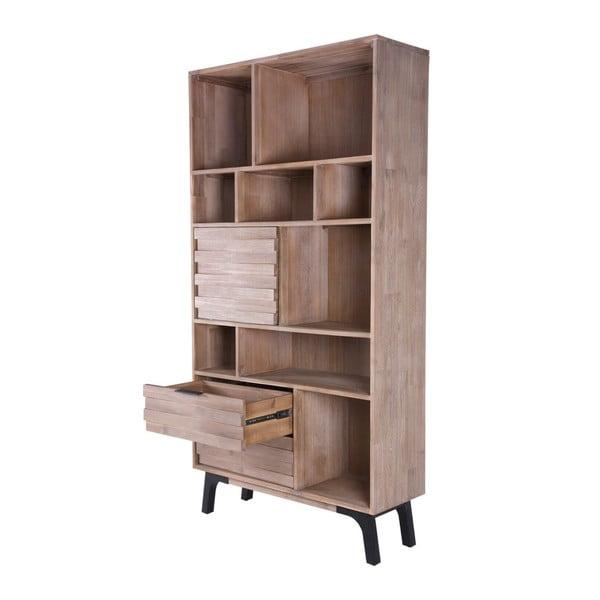 Knihovna z akáciového dřeva sømcasa Amsterdam