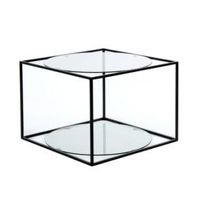 Odkládací stolek 360 Living Curtis Klar Schwarz