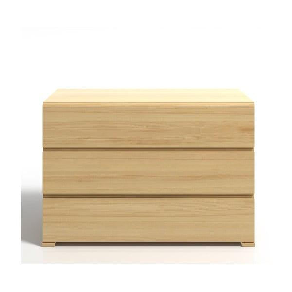 Komoda z borovicového dřeva se 3 zásuvkami SKANDICA Vestre