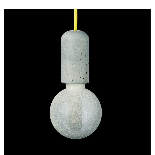 Žluté svítidlo od Jakuba Velínského, 1,2 m