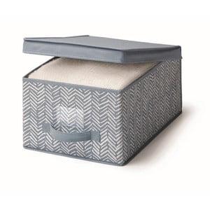 Cutie pentru depozitare Cosatto Tweed, lățime 30 cm, albastru