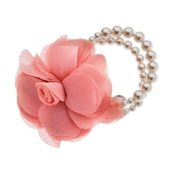 Růžový elastický náramek Ottaviani Rose