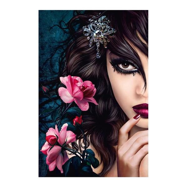 Maxi plakát Midnight Rose, 115x175 cm
