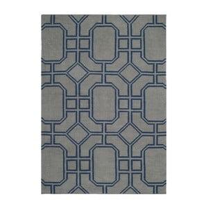 Vlněný ručně tkaný koberec Safavieh Bellina, 121x182cm