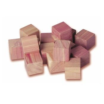Set 16 cuburi din lemn de cedru pentru dulap Compactor imagine