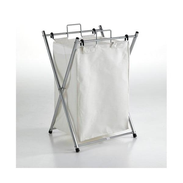 Bílý koš na prádlo Tomasucci Cross