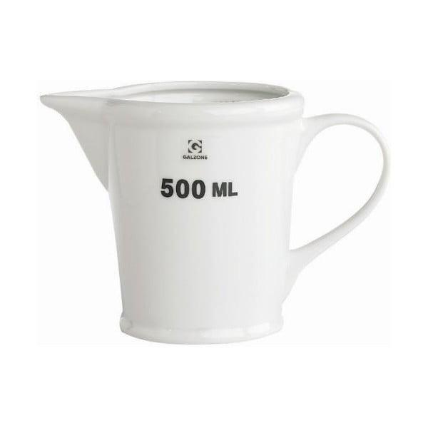 Porcelánová odměrka Galzone 500 ml