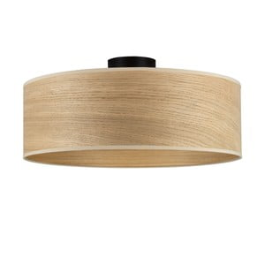 Stropní svítidlo se stínidlem ze dřeva dubu Sotto Luce TSURI XL