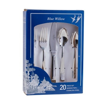 Set 20 tacâmuri Churchill Blu Willow
