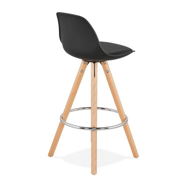 Černá barová židle Kokoon Anau, výškasedu64cm