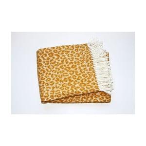 Deka Leopard Gold, 140x180 cm