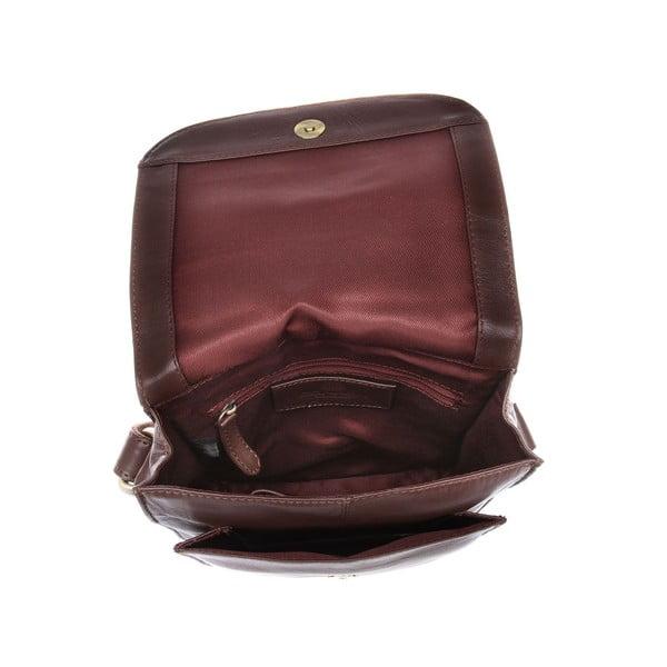 Dámská kožená taška Amarylis Cognac Cross-Body