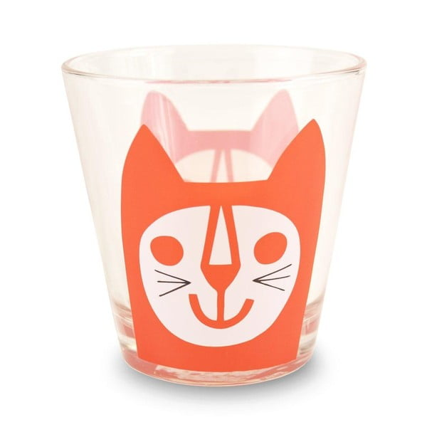Sklenice MAKE International Red Cat, 250 ml