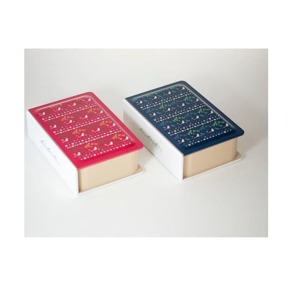Svačinový box Joli Bento Metsa Book Blue,500ml