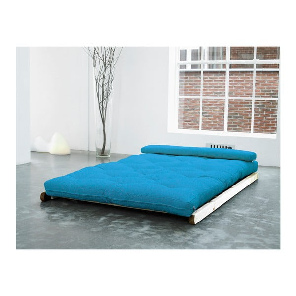 Fotoliu Karup Figo, Raw/Horizon Blue, 120 cm