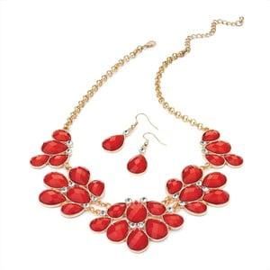 Set náhrdelník a náušnice Stacey