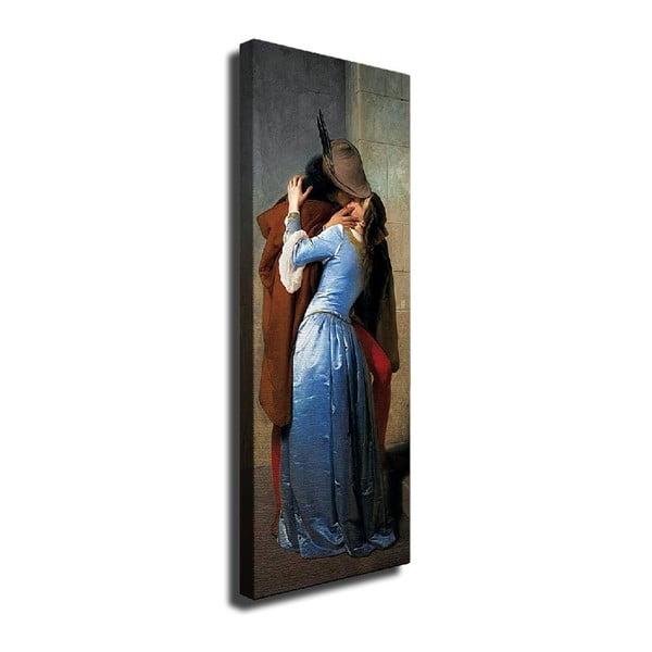 Romance vászon fali kép, 30 x 80 cm