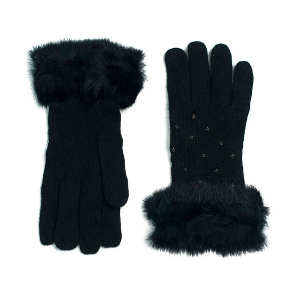 Černé rukavice Classico